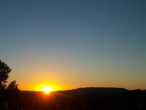 sedona sky sunset